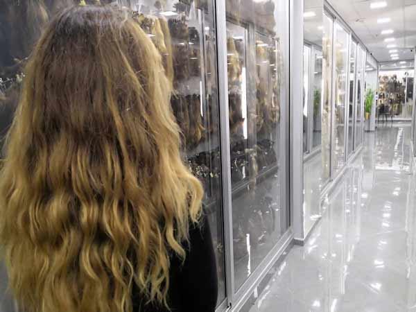 תוספות שיער הסלון