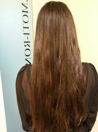 החלקה הארכה ומלוי שיער טבעי