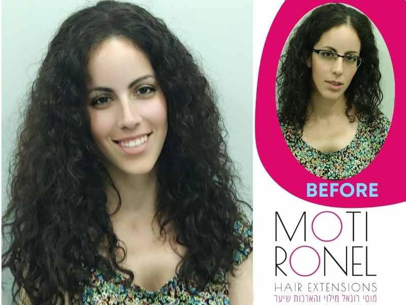 מוטי רונאל תוספות שיער